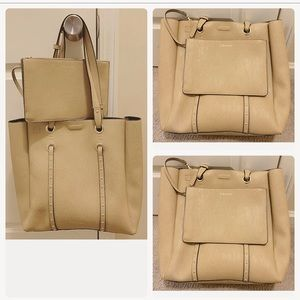 Calvin Klein tote bag with matching insert